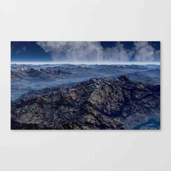 Welcome To Planet X Canvas Print