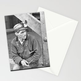 Kentucky Coal Miner Stationery Cards