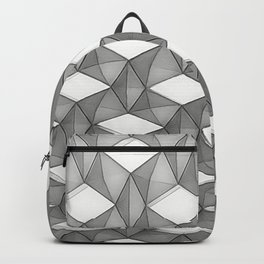 Trapez 5/5 grey pencil sketch by Brian Vegas Backpack