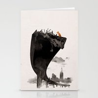 the last of us Stationery Cards featuring The Last of Us by Robert Farkas