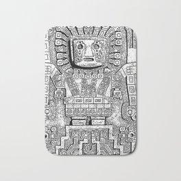 Sun gate - Teotihuacan - Tiahuanaco -Tiwanaku - Pre-Columbian cultures - Bolivia Bath Mat