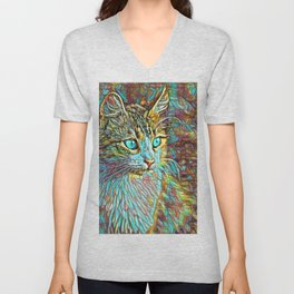 ColorMix Kitten 1 Unisex V-Neck