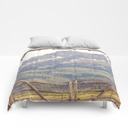 Western Mountain Ranch Comforters