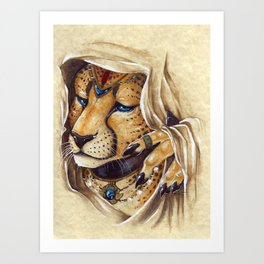 Firuzeh Art Print