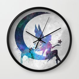 Galaxy Series (Fairy) Wall Clock