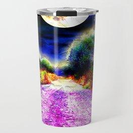Moonlight Pathway Travel Mug