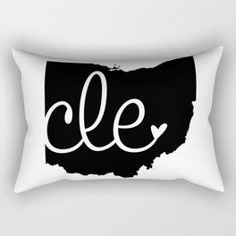 Love Cleveland Rectangular Pillow