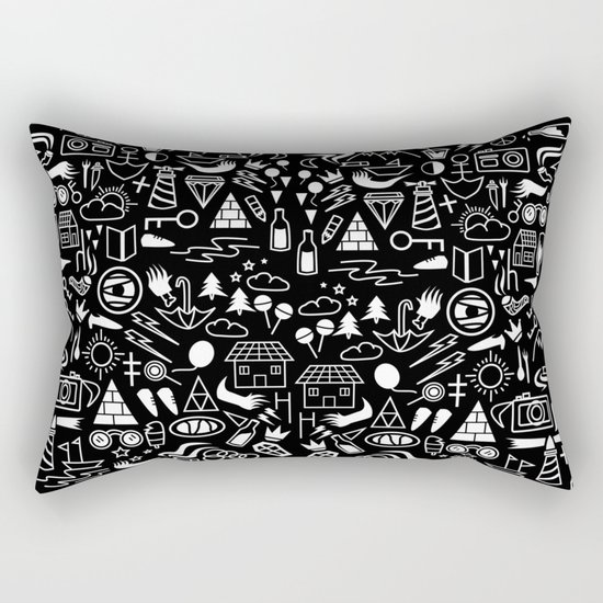 holiday pattern Rectangular Pillow