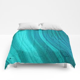 Turquoise Halos Comforters