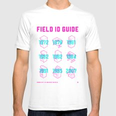 ARCADE FIELD ID GUIDE - SERIAL 001-009 Mens Fitted Tee White MEDIUM
