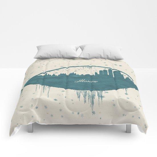 Frozen Moscow Comforters