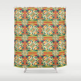 Eye-catching geometric pattern Shower Curtain