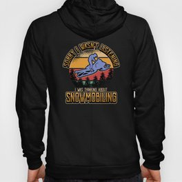 Snowmobile Snow Winter Sports Funny Gift Hoody