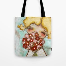 Smells like Spring - by Diane Duda Tote Bag