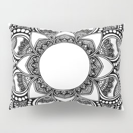 Mandala Patterns Pillow Sham