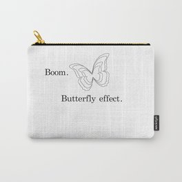 Butterfly Effect (Transparent) Carry-All Pouch