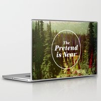 house Laptop & iPad Skins featuring The Pretend Is Near. by Nick Nelson