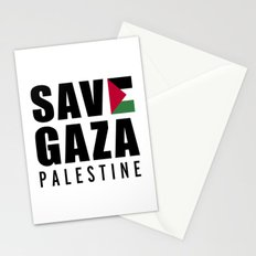 Save Gaza Quote Stationery Cards