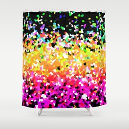 Mosaic Sparkley Texture G225 Shower Curtain