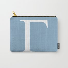 Greek letter Gamma sign on placid blue background Carry-All Pouch