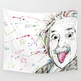 Einstein! Wall Tapestry