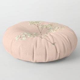 Baby's Breath Floor Pillow