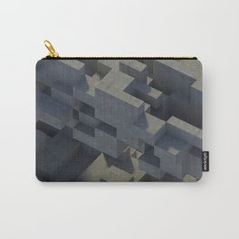 Abstract Concrete IV Carry-All Pouch