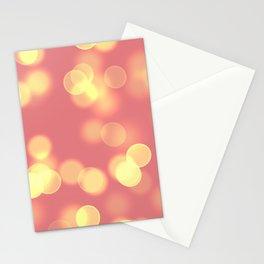 Soft Lights Bokeh 4B Stationery Cards