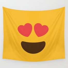 Love Face Wall Tapestry