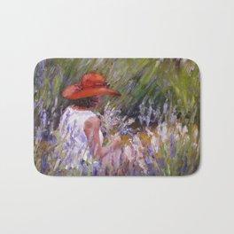 Lavender Picking — L Diane Johnson Bath Mat