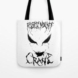 Resplendent Crane Tote Bag