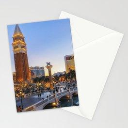 Venetian Hotel Plaza, Las Vegas Stationery Cards