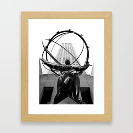 Atlas Framed Art Print