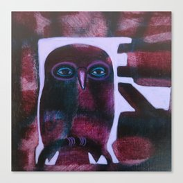 Owl Drive Canvas Print
