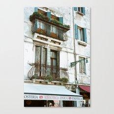 VENICE V - APARTMENT Canvas Print