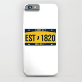 New Jersey State License Plate Souvenir iPhone Case