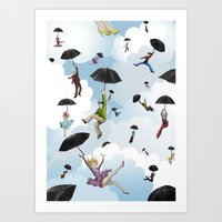 Sky People Art Print