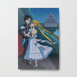 Moonlight Waltz Metal Print