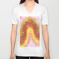 dots V-neck T-shirts featuring Dots by Fine2art