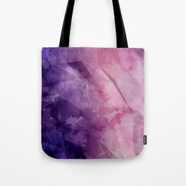 Violet - Watercolor Painting in Ultra Violet Purple and Pink Tote Bag