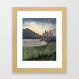 The Castle at Dawn Framed Art Print