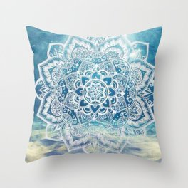 Mandala Underwater Throw Pillow