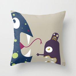 Screamin' Throw Pillow