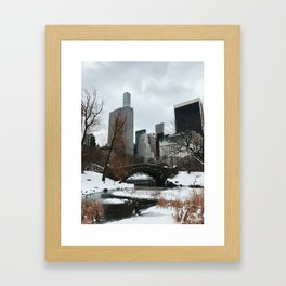 Chilly NYC Framed Art Print