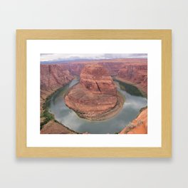 Horse Shoe Bend Framed Art Print