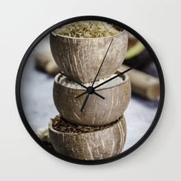 rice Wall Clock
