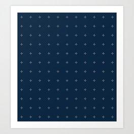 Starlight Pattern Art Print