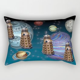 March Of The Daleks Rectangular Pillow
