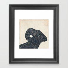 Baaaaaah Framed Art Print