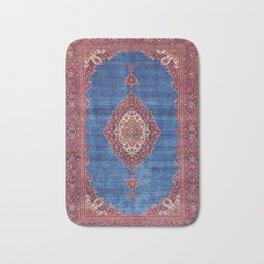 Silk Kashan Central Persian Rug Print Bath Mat
